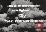 Image of P-47 Thunderbolt United States USA, 1943, second 43 stock footage video 65675022991