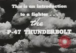Image of P-47 Thunderbolt United States USA, 1943, second 44 stock footage video 65675022991