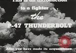 Image of P-47 Thunderbolt United States USA, 1943, second 46 stock footage video 65675022991