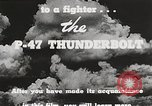 Image of P-47 Thunderbolt United States USA, 1943, second 47 stock footage video 65675022991