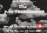 Image of P-47 Thunderbolt United States USA, 1943, second 48 stock footage video 65675022991