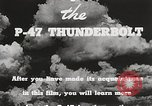 Image of P-47 Thunderbolt United States USA, 1943, second 49 stock footage video 65675022991