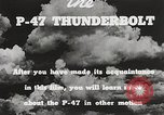 Image of P-47 Thunderbolt United States USA, 1943, second 51 stock footage video 65675022991