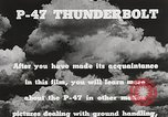 Image of P-47 Thunderbolt United States USA, 1943, second 52 stock footage video 65675022991