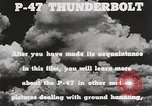 Image of P-47 Thunderbolt United States USA, 1943, second 53 stock footage video 65675022991