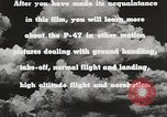 Image of P-47 Thunderbolt United States USA, 1943, second 61 stock footage video 65675022991