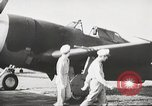 Image of Pilot receives familiarization training in P-47 aircraft United States USA, 1943, second 15 stock footage video 65675022993