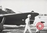 Image of Pilot receives familiarization training in P-47 aircraft United States USA, 1943, second 17 stock footage video 65675022993