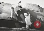 Image of Pilot receives familiarization training in P-47 aircraft United States USA, 1943, second 24 stock footage video 65675022993