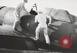 Image of Pilot receives familiarization training in P-47 aircraft United States USA, 1943, second 28 stock footage video 65675022993