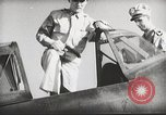 Image of Pilot receives familiarization training in P-47 aircraft United States USA, 1943, second 31 stock footage video 65675022993
