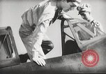 Image of Pilot receives familiarization training in P-47 aircraft United States USA, 1943, second 32 stock footage video 65675022993