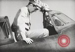 Image of Pilot receives familiarization training in P-47 aircraft United States USA, 1943, second 33 stock footage video 65675022993