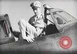 Image of Pilot receives familiarization training in P-47 aircraft United States USA, 1943, second 34 stock footage video 65675022993