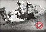 Image of Pilot receives familiarization training in P-47 aircraft United States USA, 1943, second 35 stock footage video 65675022993