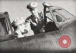 Image of Pilot receives familiarization training in P-47 aircraft United States USA, 1943, second 36 stock footage video 65675022993