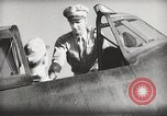 Image of Pilot receives familiarization training in P-47 aircraft United States USA, 1943, second 37 stock footage video 65675022993