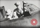 Image of Pilot receives familiarization training in P-47 aircraft United States USA, 1943, second 38 stock footage video 65675022993