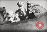 Image of Pilot receives familiarization training in P-47 aircraft United States USA, 1943, second 39 stock footage video 65675022993