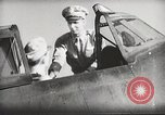 Image of Pilot receives familiarization training in P-47 aircraft United States USA, 1943, second 40 stock footage video 65675022993
