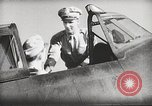 Image of Pilot receives familiarization training in P-47 aircraft United States USA, 1943, second 41 stock footage video 65675022993