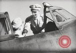 Image of Pilot receives familiarization training in P-47 aircraft United States USA, 1943, second 42 stock footage video 65675022993