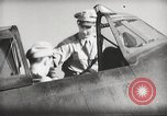 Image of Pilot receives familiarization training in P-47 aircraft United States USA, 1943, second 45 stock footage video 65675022993