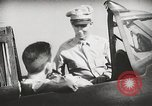 Image of Blindfold cockpit check in P-47 aircraft United States USA, 1943, second 10 stock footage video 65675022994