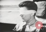 Image of Blindfold cockpit check in P-47 aircraft United States USA, 1943, second 39 stock footage video 65675022994