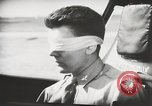 Image of Blindfold cockpit check in P-47 aircraft United States USA, 1943, second 42 stock footage video 65675022994