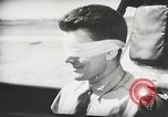 Image of Blindfold cockpit check in P-47 aircraft United States USA, 1943, second 45 stock footage video 65675022994