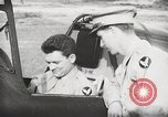 Image of Blindfold cockpit check in P-47 aircraft United States USA, 1943, second 48 stock footage video 65675022994