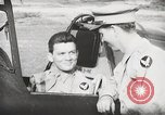Image of Blindfold cockpit check in P-47 aircraft United States USA, 1943, second 49 stock footage video 65675022994