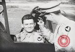 Image of Blindfold cockpit check in P-47 aircraft United States USA, 1943, second 50 stock footage video 65675022994
