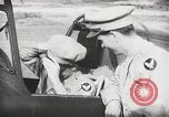 Image of Blindfold cockpit check in P-47 aircraft United States USA, 1943, second 52 stock footage video 65675022994