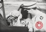 Image of Blindfold cockpit check in P-47 aircraft United States USA, 1943, second 53 stock footage video 65675022994