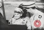 Image of Blindfold cockpit check in P-47 aircraft United States USA, 1943, second 54 stock footage video 65675022994