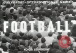 Image of College football game College Park Maryland USA, 1953, second 2 stock footage video 65675023024