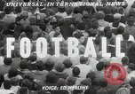 Image of College football game College Park Maryland USA, 1953, second 3 stock footage video 65675023024