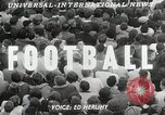 Image of College football game College Park Maryland USA, 1953, second 4 stock footage video 65675023024