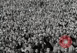 Image of College football game College Park Maryland USA, 1953, second 24 stock footage video 65675023024