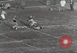 Image of College football game College Park Maryland USA, 1953, second 31 stock footage video 65675023024