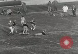 Image of College football game College Park Maryland USA, 1953, second 32 stock footage video 65675023024