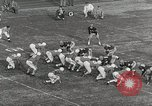 Image of College football game College Park Maryland USA, 1953, second 33 stock footage video 65675023024