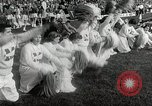 Image of College football game College Park Maryland USA, 1953, second 41 stock footage video 65675023024