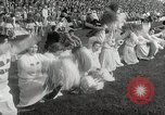 Image of College football game College Park Maryland USA, 1953, second 42 stock footage video 65675023024