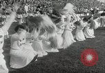 Image of College football game College Park Maryland USA, 1953, second 43 stock footage video 65675023024