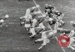 Image of College football game College Park Maryland USA, 1953, second 44 stock footage video 65675023024