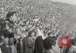 Image of College football game College Park Maryland USA, 1953, second 57 stock footage video 65675023024