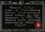 Image of Pyramid of the Sun Teotihuacan Mexico, 1925, second 17 stock footage video 65675023035